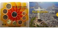 3,88 € 2016 Slowakei Kursmünzensatz 8 Münzen + 1 Medaille aus Rio stgli... 29,80 EUR  zzgl. 5,00 EUR Versand
