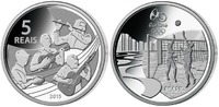 5 Reais 2015 Rio Oly. Sommer Rio 2016 - Chorinho 08 / 16, orig.Oly. Kap... 99,90 EUR  zzgl. 5,00 EUR Versand