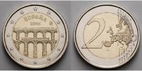 2 Euro 2016 Spanien Altstadt und Aquädukt Segovia, stgl  4,50 EUR  zzgl. 3,95 EUR Versand