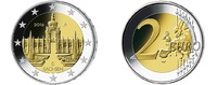 2 Euro 2016D Deutschland Dresdner Zwinger in Sachsen,   Prägestätte D s... 3,50 EUR  zzgl. 3,95 EUR Versand
