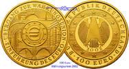 100 Euro  15,55g  fein  28 mm Ø 2002 A  Deutschland Einführung des Euro... 665,00 EUR kostenloser Versand