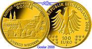 100 Euro  15, 55g  fein  28 mm Ø 2008D  Deutschland Hansestadt Goslar, ... 640,00 EUR kostenloser Versand