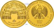 100 Euro  15,55g  fein  28 mm Ø 2010A  Deutschland Würzburger Residenz ... 650,00 EUR kostenloser Versand