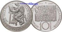 Italien 10 Euro Schule für Medaillenkunst / Silber, inkl. Kapsel & Zertifikat & Etui