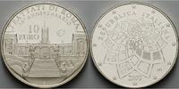Italien 10 Euro Römische Verträge 2007 / Europaprogramm /Silber,inkl. Kapsel & Zertifikat & Etui
