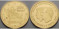 Spanien 200 Euro 13,49g fein 30 mm Ø 1.Geburtstag des Euro, Göttin & Stier, nur in Kapsel, mit MDM-Zertifikat