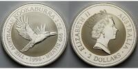 Australien 2 $,2 oz. Kookaburra