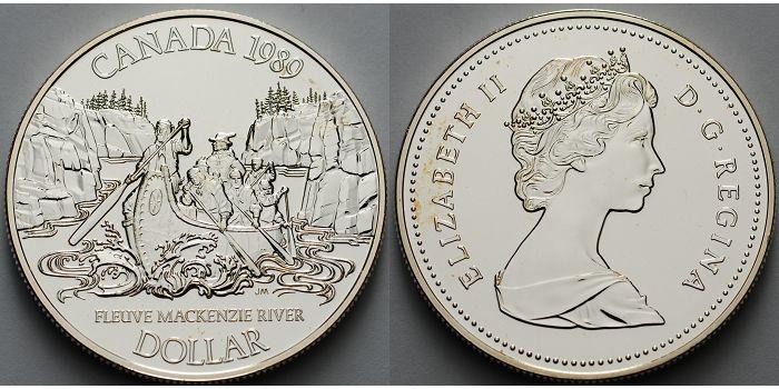 Mackenzie River Kanada 1 $ 1989