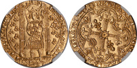 Franc a Pied  France France Charles V Gold Franc a Pied NGC MS-63 MS-63  3299,99 EUR  plus 30,00 EUR verzending