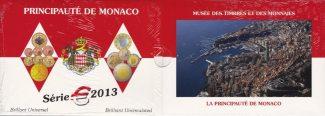 Monaco 5,88 € 2013 Stempelglanz Kursmünzen...