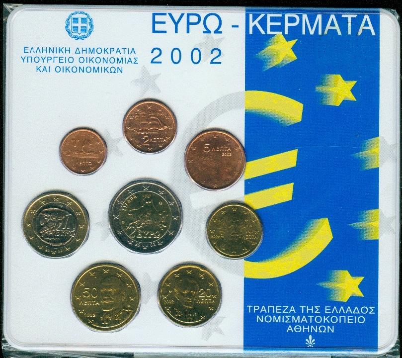 Griechenland Kms 2002 3,88 €