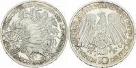 Deutschland 10 Deutsche Mark Deutschland 10 Mark 1987 G Karlsruhe 30 Jahre EG Römische Verträge Jaeger 442