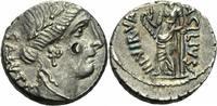 Denar 49 v.Chr. Rom Republik Acilius Glabrio Denar Rom 49 Salus Nikerat... 250,00 EUR kostenloser Versand