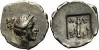 1/4 Drachme, Hemikitharephoroi 1. Jhdt. v.Chr. Lykien Kragos Lykien Lyk... 180,00 EUR  zzgl. 5,00 EUR Versand
