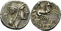 Denar 91 v. Chr. Rom Republik Iunius Silanus Denar Rom 91 Roma Flügelhe... 200,00 EUR kostenloser Versand