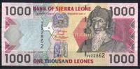 1.000 Leones  Sierra Leone Pick 24c unc/kassenfrisch  2,50 EUR  zzgl. 3,95 EUR Versand