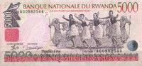 Rwanda 5.000 Francs Pick 28