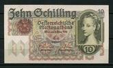 Österreich 10 Schillings Pick 122