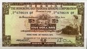 Hong Kong / Shanghai Banking 5 Dollars Pick 181d