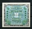 1/2 Mark 1944-1948 Alliierte Millitärbehörde Ros.200a Kassenfrisch  29,00 EUR  zzgl. 4,50 EUR Versand