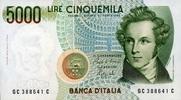 Italien 5.000 Lire Pick 111b