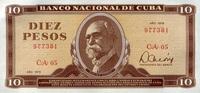 10 Pesos 1978 Cuba Pick 104b unc/kassenfrisch  24,00 EUR  zzgl. 4,50 EUR Versand
