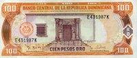 Dominikanische Republik 100 Pesos Oro Pick 156a