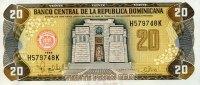 Dominikanische Republik 20 Pesos Oro Pick 154a