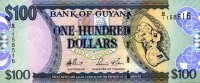 Guyana 100 Dollars Pick 36a