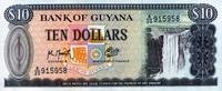 Guyana 10 Dollars Pick 23f