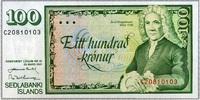 100 Kronur 29.3.1961 Island Pick 50a unc/kassenfrisch  6,00 EUR  zzgl. 3,95 EUR Versand