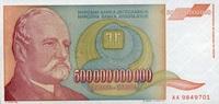 500.000.000.000 Milliarden Dinara 1993 Jugoslawien Pick 137a unc/kassen... 7,50 EUR  zzgl. 3,95 EUR Versand