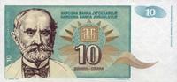 10 Dinara 1994 Jugoslawien Pick 138a unc/kassenfrisch  0,85 EUR  zzgl. 3,95 EUR Versand