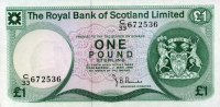 The Royal Bank of Scotland 1 Pound Pick 336a