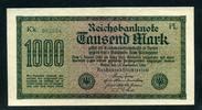 Geldscheine der Inflation 1919-1924 1.000 Mark Ros.75m