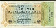 5 Mrd. Mark 10.10.1923 Geldscheine der Inflation 1919-1924 Ros.117b MM ... 24,00 EUR  zzgl. 4,50 EUR Versand
