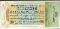 50 Mrd. Mark 10.10.1923 Geldscheine der Inflation 1919-1924 Ros.117b WB... 24,00 EUR  zzgl. 4,50 EUR Versand