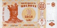 10 Lei 2009 Moldawien Pick 10f unc/kassenfrisch  1,65 EUR  zzgl. 3,95 EUR Versand