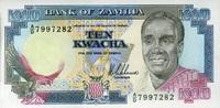 Zambia 10 Kwacha Pick 31a