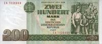 200 Mark 1985 Staatsbank der DDR 1971-1989 Ros.364b - Ersatznote ZA - u... 20,00 EUR  zzgl. 3,95 EUR Versand