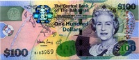 Bahamas 100 Dollars - COLORFUL -