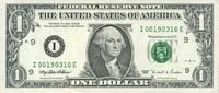 1 Dollar 1995 USA - Minneapolis - unc/kassenfrisch  4,50 EUR  zzgl. 3,95 EUR Versand