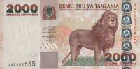 Tansania 2.000 Shilingi Pick 37-