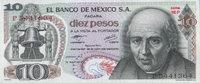 Mexico 10 Pesos Pick 63i