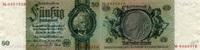 Deutsche Reichsbank 1924-1945 50 Reichsmark - David Hansemann - Friedensdruck Frühjahr 1934 -