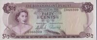 Bahamas 1/2 Dollar Pick 17a