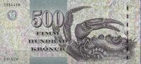 Färöer-Insel 500 Kronur Pick 27