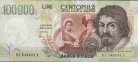 Italien 100.000 Lire Pick 117b