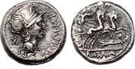 Roman Republic M. Cipius M.f. AR Denarius. EF. Vic