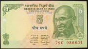 Indien 5 Rupees P.88Aa